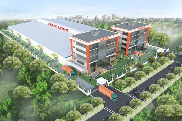 Dự án nhà kho Nam Long