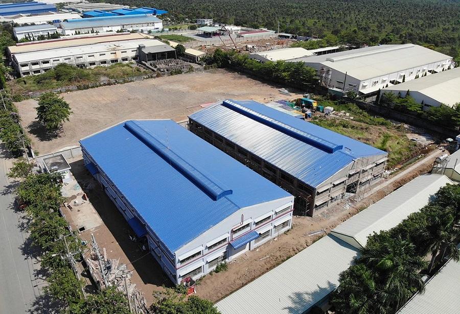 Dự án nhà kho - nhà xưởng Thái Bình Dương