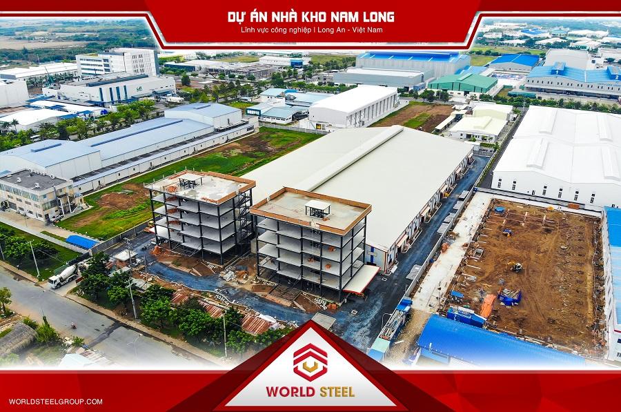 Dự án nhà kho Nam Long tại Long an