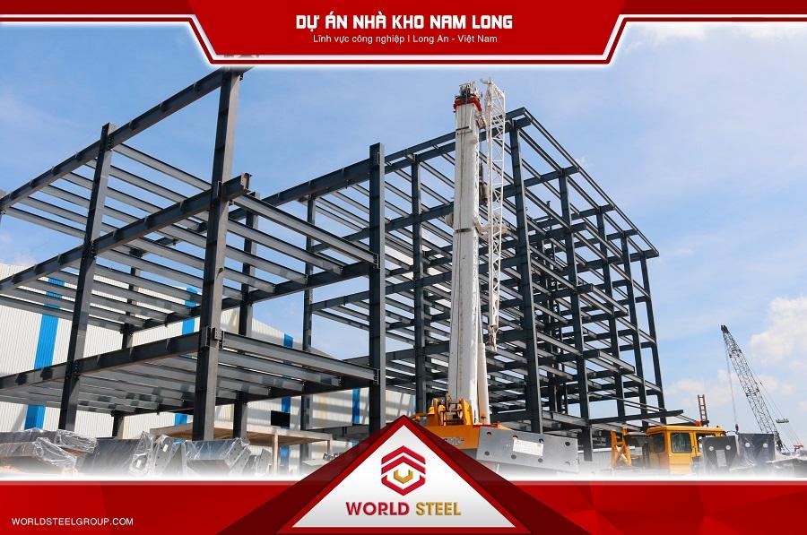 World Steel xây dựng dự án Nam Long