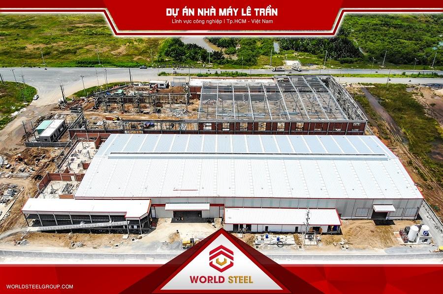 Dự án nhà máy Lê Trần tại nhà bè - TPHCM