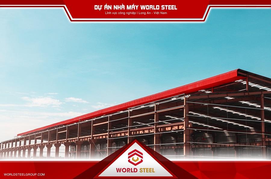 Dự án nhà máy kết cấu thép WorldSteel