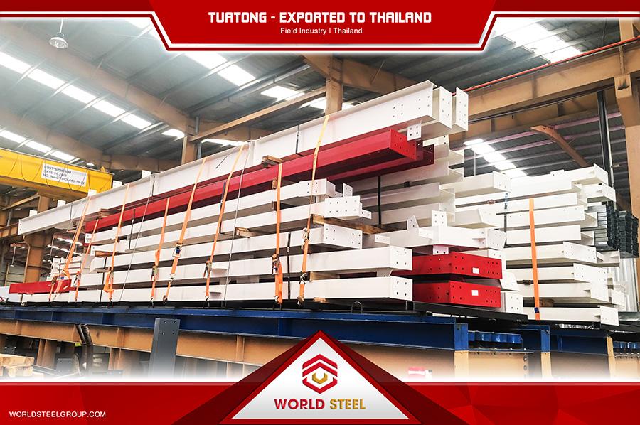 Dự án xuất khẩu thép Tuatong