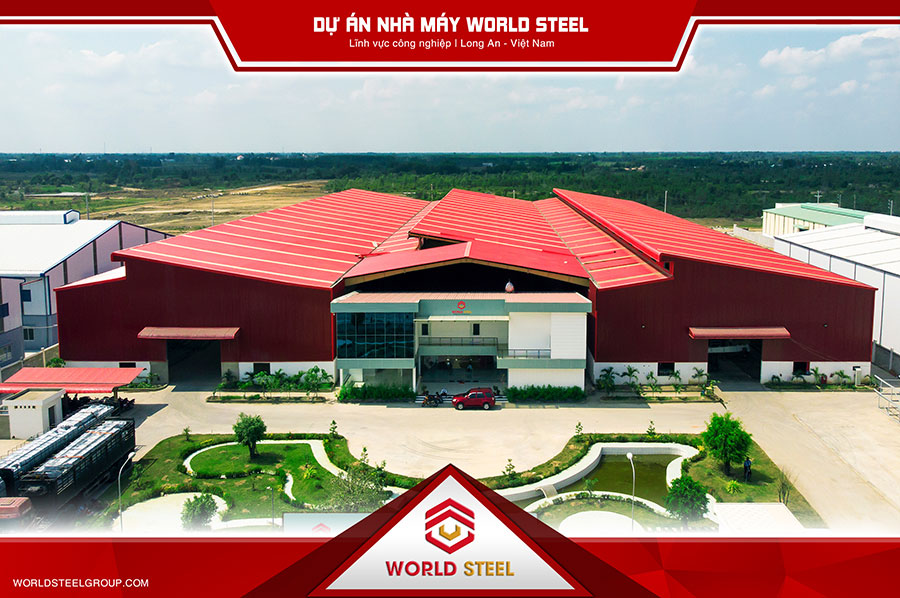 Dự án xây dựng nhà máy WorldSteel