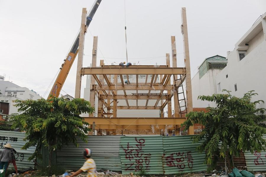 Xây dựng tòa nhà văn phòng WorldSteel