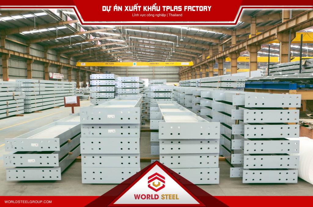 Dự án xuất khẩu kết cấu thép