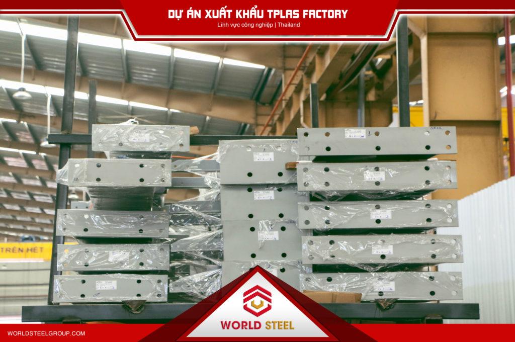 Dự án xuất khẩu thép TPLAS Factory