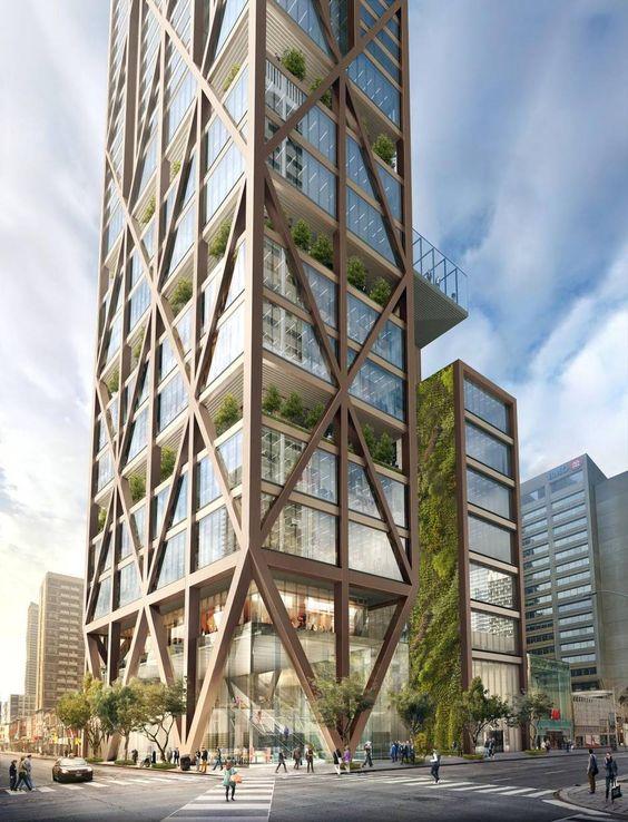 Dự án nhà thép tiền chế 7 tầng