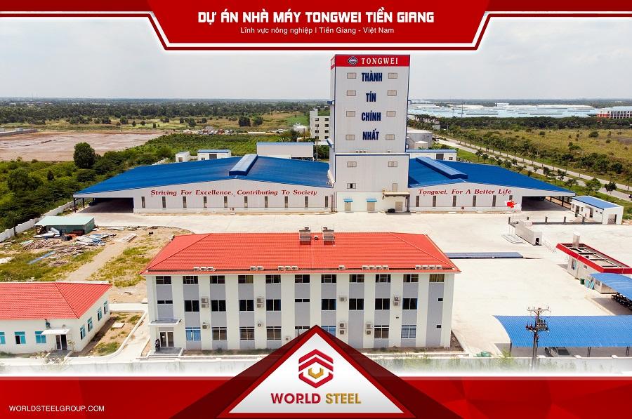 Dự án xây dựng nhà máy Tongwei Tiền Giang