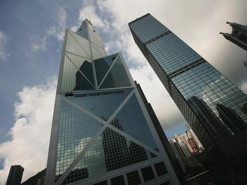 Tòa nhà Bank of China Tower – Trung Quốc