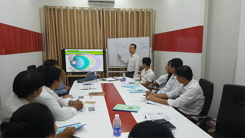 Hình ảnh đào tạo tiêu chuẩn ISO 9001:2015