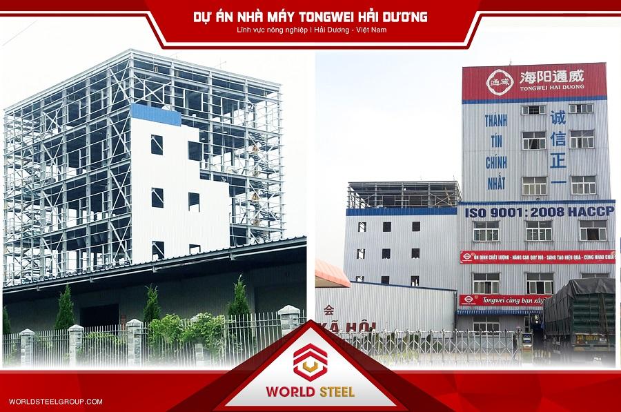 Dự án xây dựng nhà máy Tongwei hải dương