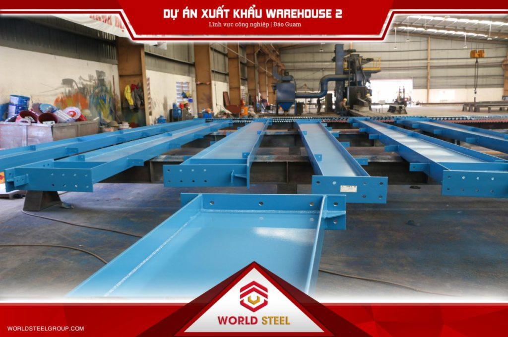 Dự án Ur Warehouse xuất khẩu thép sang đảo Guam