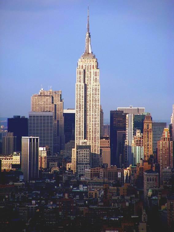 Tòa nhà Cao Tầng Empire State – Mỹ
