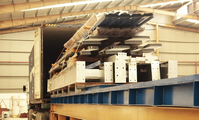 Xuất khẩu các cấu kiện thép sang Mỹ