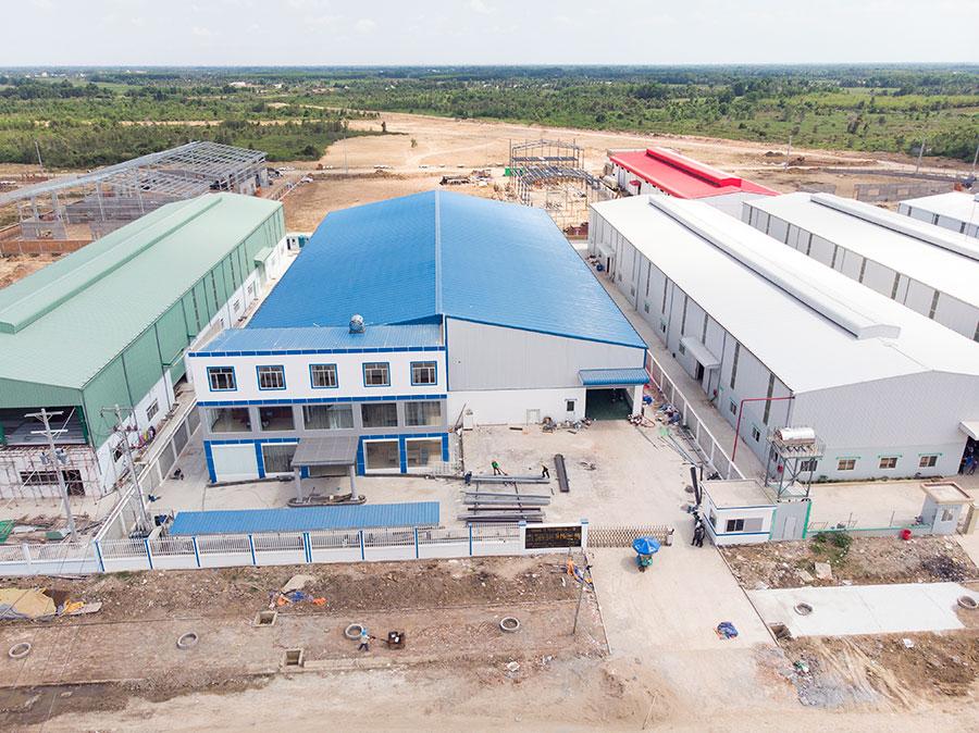 Xây dựng nhà xưởng tiền chế tại HCM chuyên nghiệp, uy tín