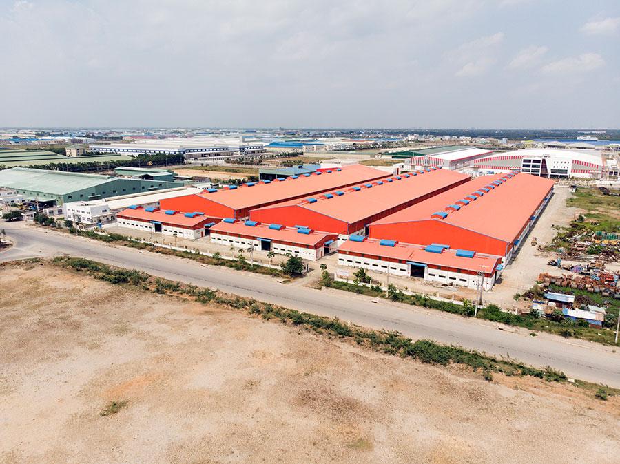 Xây dựng nhà xưởng tiền chế tại HCM