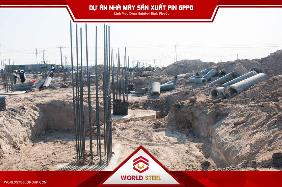 Dự án nhà máy sản xuất pin GPPD